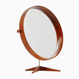 Miroir de Table Mid-Century par Uno & Östen Kristiansson pour Luxus, Suède