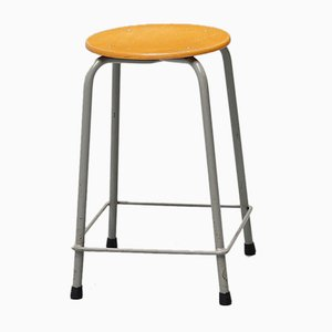 Dutch Industrial Stool from Ahrend de Cirkel, 1970s