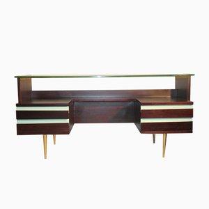 Minimalistischer Italienischer Schreibtisch, 1950er