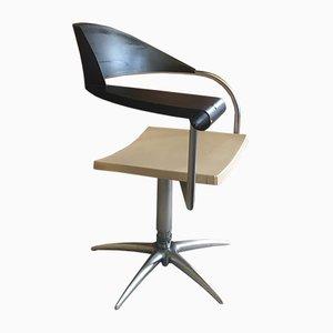 Sedia da barbiere di Philippe Starck per Tecno, anni '90