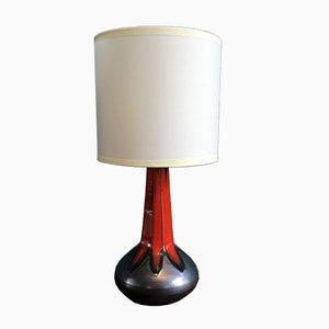 Lámpara de mesa danesa vintage de Ole Christensen, años 60