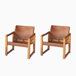 Diana Safari Sessel von Karin Mobring für Ikea, 1970er, 2er Set