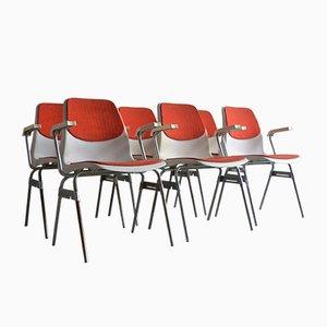 Chaises de Lubke, 1970s, Set de 6