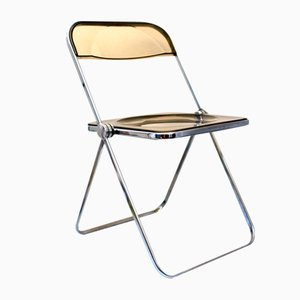 Vintage Plia Chair by Giancario Piretti for Castelli