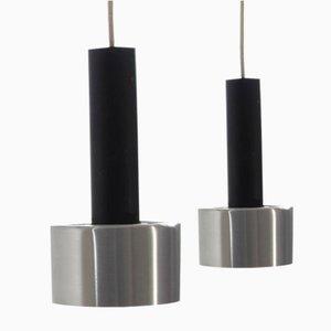 Lampes à Suspension Vintage par Nico Kooy pour Raak, 1960s, Set de 2