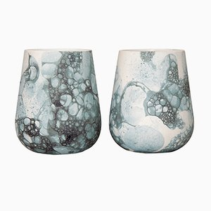 Bubblegraphy Cups by Adrianus Kundert & Thomas van der Sman for Oddness, Set of 2