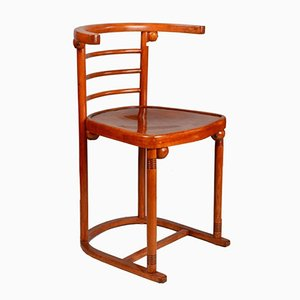 Sedia in legno curvato di Josef Hoffmann per Jacob & Joseph Kohn