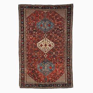 Handgearbeiteter antiker orientalischer Teppich, 1870er