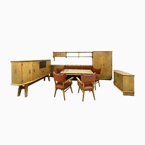 Vintage Esszimmer Set von Škvor Karel
