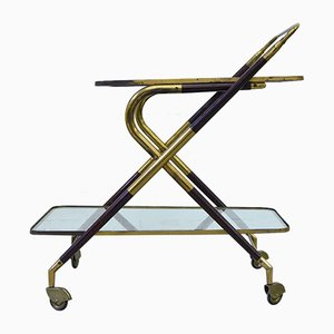 Vintage Bar Trolley by Cesare Lacca for Cassina