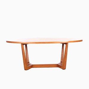 Table Basse Ovale Tchèque, 1960s