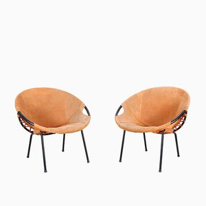 Armchairs from Lusch Erzeugnis, 1960s, Set of 2