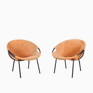 Armlehnstühle von Lusch Erzeugnis, 1960er, 2er Set
