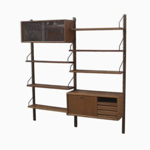 Danish Royal System Wall Unit by Poul Cadovius for Cado, 1950s