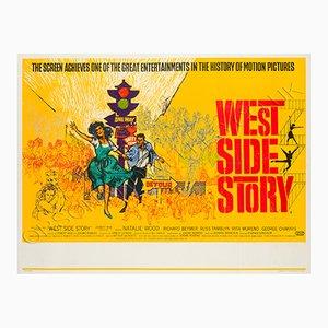 Vintage West Side Story Film Poster, 1961