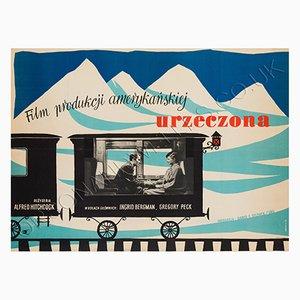 Vintage Polish Spellbound Film Poster
