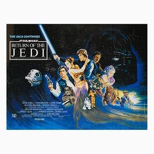 Póster de la película The Return of the Jedi, 1983
