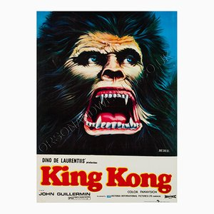 Pakistani King Kong Film Poster, 1981
