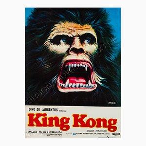 Pakistani King Kong Film Poster, 1981