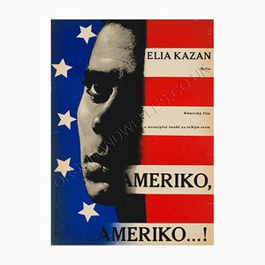 Poster du Film America America par Richard Fremund, 1960s