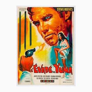 Vintage Vivo Per la Tua Morte Film Poster by Belinsky, 1968