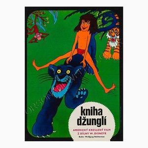 Tschechisches Das Dschungelbuch Filmplakat von Vratislav Hlavaty