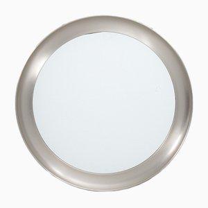 Italian Narcisso Nickel Mirror by Sergio Mazza for Artemide, 1960s