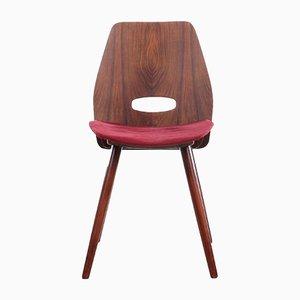 Tschechische Stühle im Sowjetischen Stil von Frantisek Jirak für Tatra Nabytok, 1960er, 4er Set