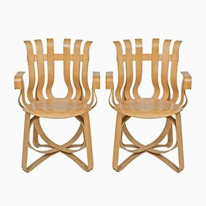 Hat Trick Armchairs by Frank O. Gehry for Knoll International, 2000, Set of 2