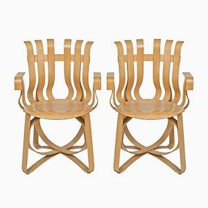 Hat Trick Armlehnstühle von Frank O. Gehry für Knoll International, 2000, 2er Set
