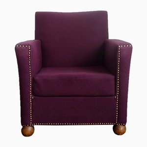Vintage Purple Armchair