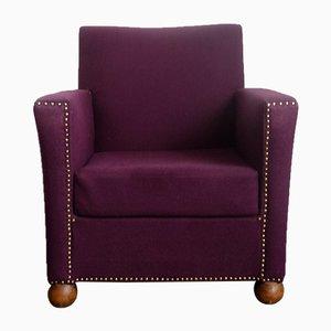 Vintage Purple Armchair