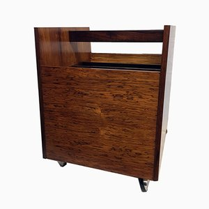 Norweigian Rosewood Magazine Rack by Rolf Hesland for Bruksbo, 1960s