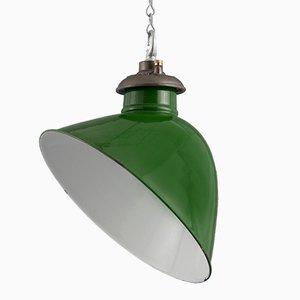 Lámpara colgante de subestación vintage de Revo