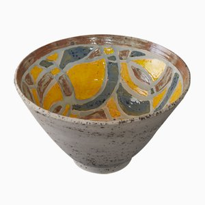 Ritmo e Colore Yellow Bowl by Paolo Spalluto for Camp Design Gallery, 2015