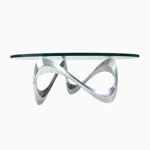 Vintage Snake Coffee Table by Knut Hesterberg for Ronald Schmitt, 1960s