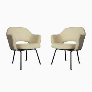 Sedie da conferenza Mid-Century di Eero Saarinen per Knoll International, anni '50, set di 2