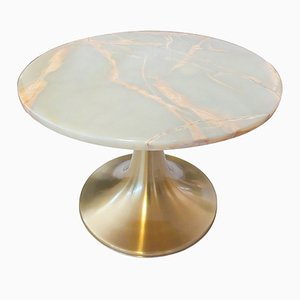 Tavolino da caffè girevole di Angelo Mangiarotti per Bernini, anni '60