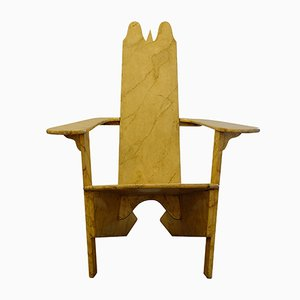 Poltrona modernista di Gino Levi Montalcini, 1927
