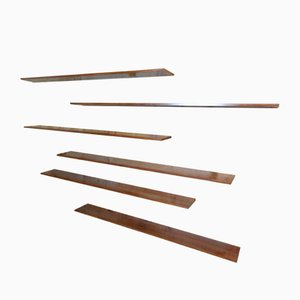 Floating Rosewood Wall System by Dr Banz for Banz Bord, 1960s