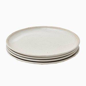Platos grandes de cerámica de R.EH para Reiss. Juego de 4