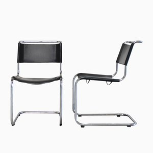 Vintage S33 Chairs by Mart Stam for Thonet, Set of 2