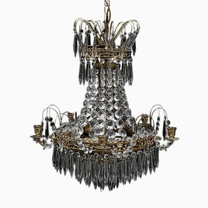 Lámpara de araña sueca antigua