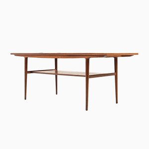 Table Basse en Teck, Danemark, 1960s