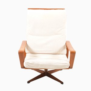 Swivel Lounge Chair by Arne Wahl Iversen for Komfort, 1960s