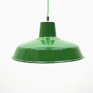 Lámpara industrial francesa vintage