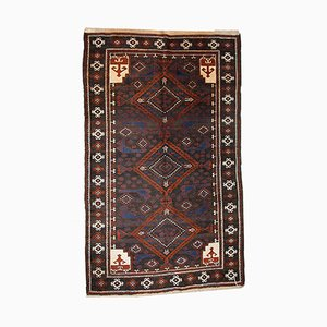 Alfombra Afghan Baluch vintage hecha a mano, años 40