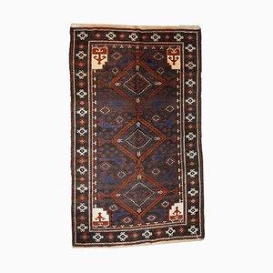 Vintage Handmade Afghan Baluch Rug, 1940s