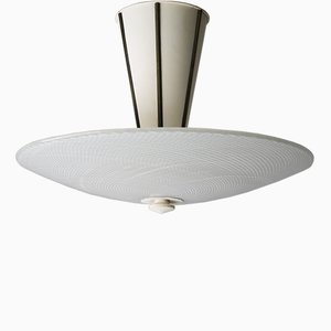 Large Reticello Flush Mount Ceiling Light from Venini