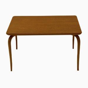 Tavolino da caffè vintage Annika in quercia e faggio di Bruno Mathsson per Karl Mathsson
